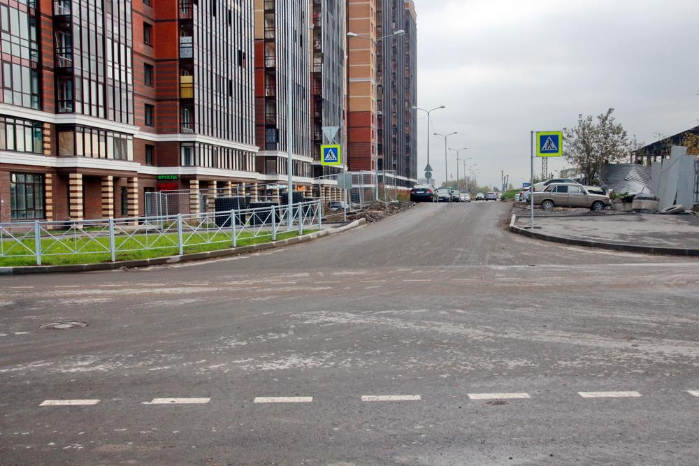 Среднерогатская улица, перекресток с Дизельным проездом