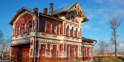 Станция Можайская, вокзал