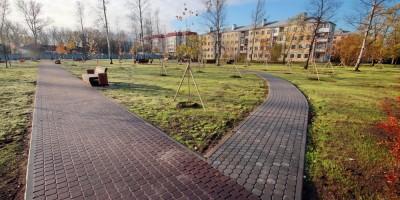 Торики, сквер на улице Политрука Пасечника