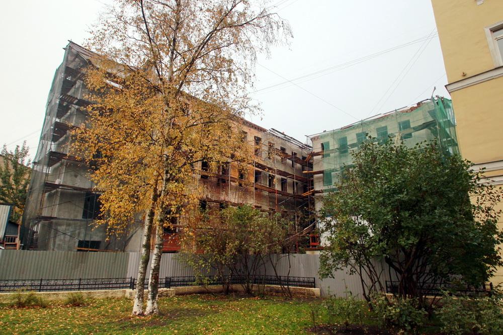Улица Лабутина, 3, капитальный ремонт