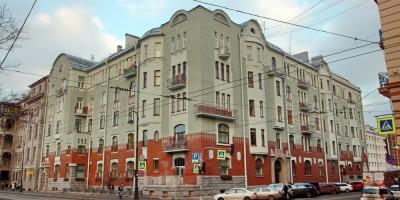 Дом Циммермана, Каменноостровский проспект, дом 61, угол с улицей Чапыгина
