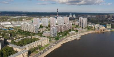 Октябрьская набережная, проект жилого квартала