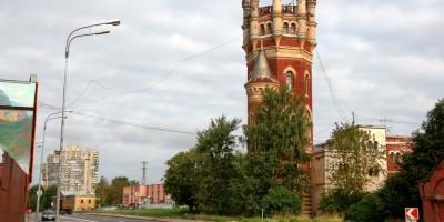 Октябрьская набережная, водонапорная башня