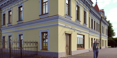 Особняк Богомолова на проспекте Стачек, проект