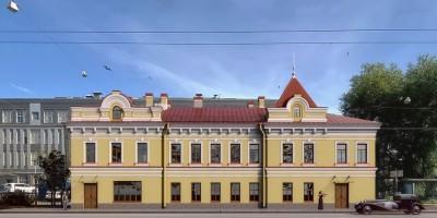 Особняк Богомолова на проспекте Стачек, проект бизнес-центра