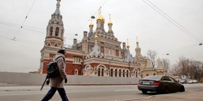Скорбященская церковь на проспекте Обуховской Обороны