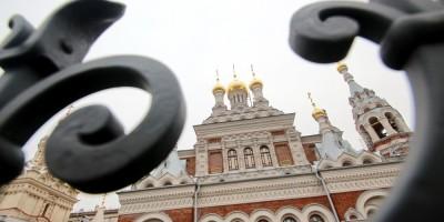 Скорбященская церковь на проспекте Обуховской Обороны, ограда