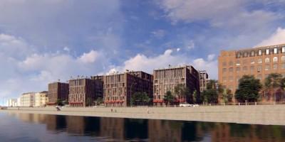 Синопская набережная, проект жилого комплекса