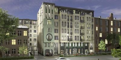 11-я линия Васильевского острова, 56, проект жилого дома