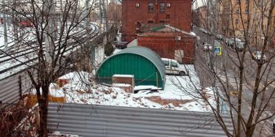 Днепропетровская улица, дом 2в, после сноса