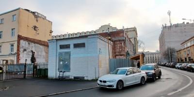 Улица Профессора Попова, дом 23, литера Р, после сноса