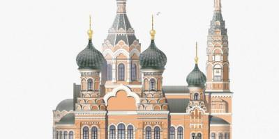5-я Советская улица, 31-33, проект восстановления Благовещенской церкви