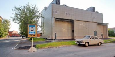 Атаманская улица, дом 7, электрическая подстанция Московская-товарная
