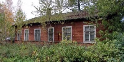 Малая Митрофаньевская улица, деревянный дом