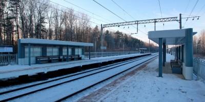 Станция Михайловская Дача