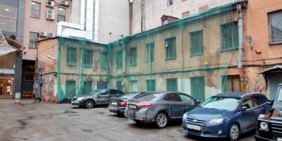 Улица Рубинштейна, 28, литера Б, дворовый флигель