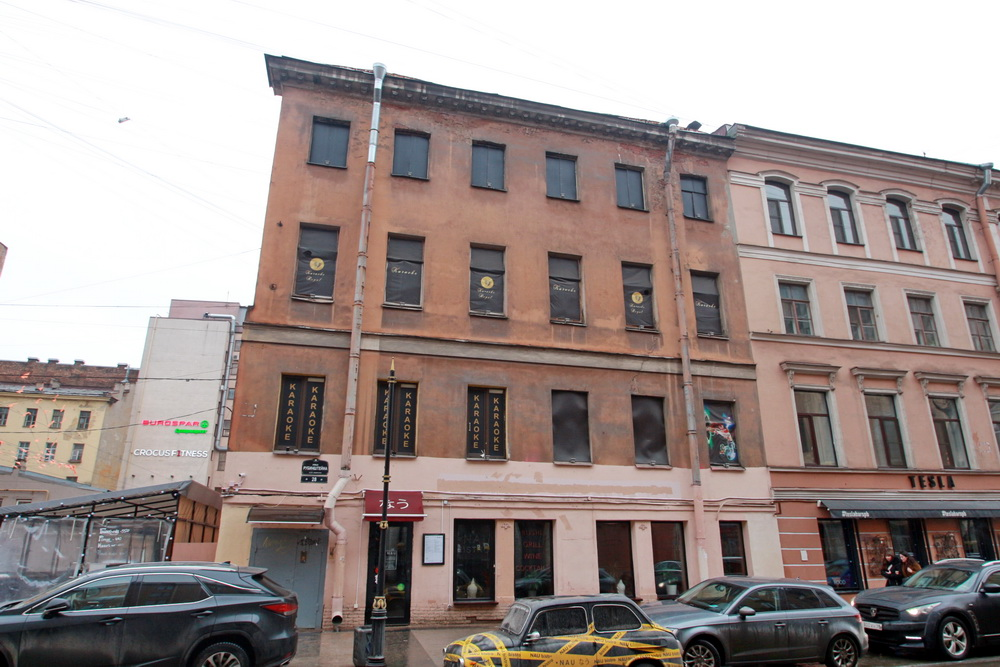 Улица Рубинштейна, 28, литера Б