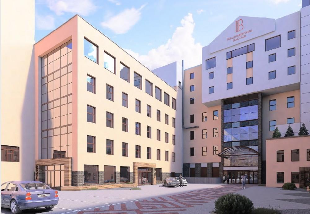 Улица Рубинштейна, 28, литера Д, проект нового здания