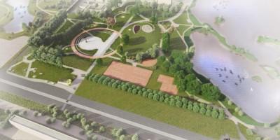 Проект второй очереди парка Героев-Пожарных
