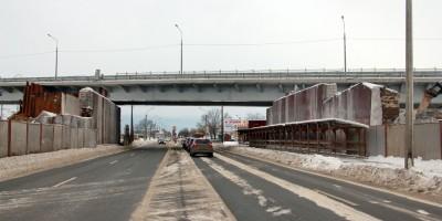 Проспект Народного Ополчения, демонтаж Лиговского путепровода