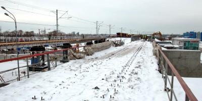 Пулковское шоссе, старые железнодорожные путепроводы