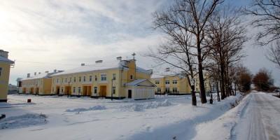 Пушкин, жилые дома на Гумилевской улице