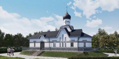 Белоостров, Сестрорецкое шоссе, проект Покровской церкви