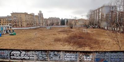 Кантемировская улица, стадион завода Климова