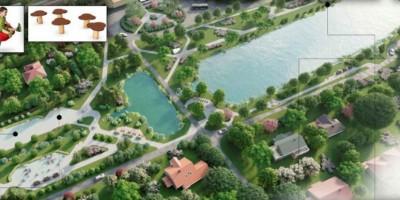 Александровская, проект сквера вокруг прудов