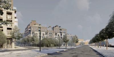 Масляный канал, проект жилого комплекса, набережная