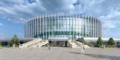 Проспект Юрия Гагарина, проект ледовой арены СКА