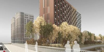 Проспект Энергетиков, 6, корпус 1, проект гостиницы