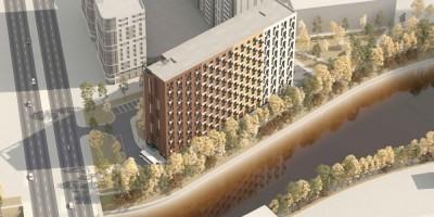 Проспект Энергетиков, 6, корпус 1, проект гостиницы, вид сверху