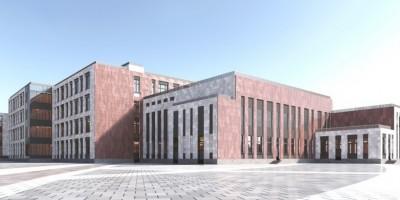 Союзный проспект, проект школы