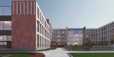 Союзный проспект, проект школы, фасады