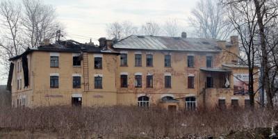 Улица Тельмана, 8, после пожара