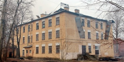 Улица Тельмана, дом 8, после пожара