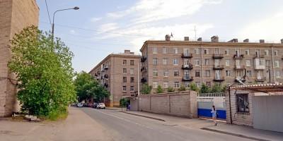 Лисичанская улица, после сноса перехода