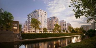 Проект жилого комплекс на Черной речке, 41