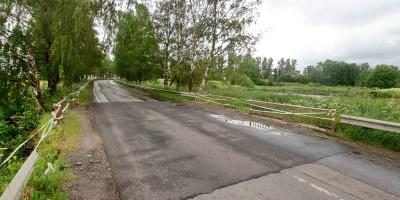 Детскосельский— Тярлево, безымянная дорога и мост