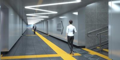 Лахта, Приморское шоссе, подземный пешеходный переход
