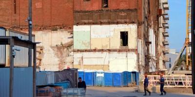 Черниговская улица, снесенный фрагмент холодильника