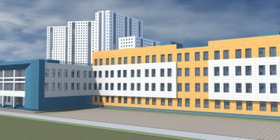 Проспект Космонавтов, проект школы