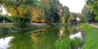 Пруд Таврического сада