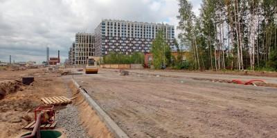 Строительство новой улицы между Октябрьской набережной и Дальневосточным проспектом