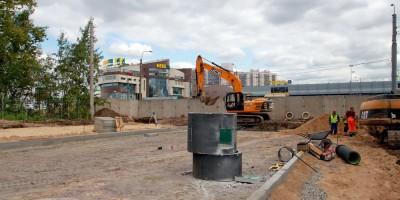 Строительство новой улицы возле Дальневосточного проспекта