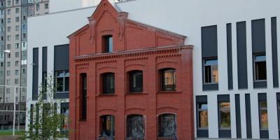Улица Глеба Успенского, дом 9, школа, восточный фасад