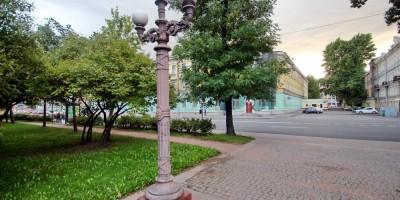 Лермонтовский сквер, фонарь