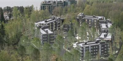 Репино, проект санаторно-курортного комплекса, вид сверху