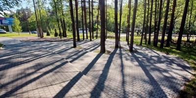 Сестрорецк, сквер на Приморском шоссе, площадка